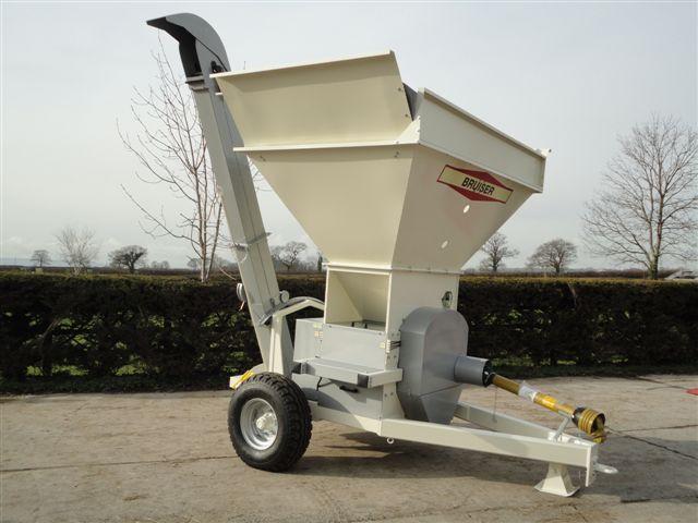 Bruiser 600 for flat rolled grain