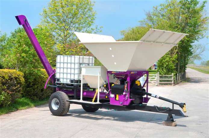 M 350 Mill & Mix Machine with protein/mineral hopper and molasses Tank