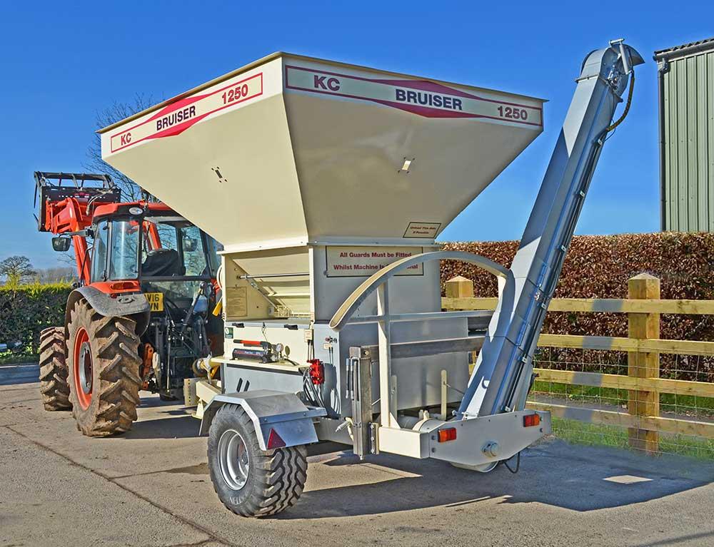 Bruiser 1250 for flat rolled grain