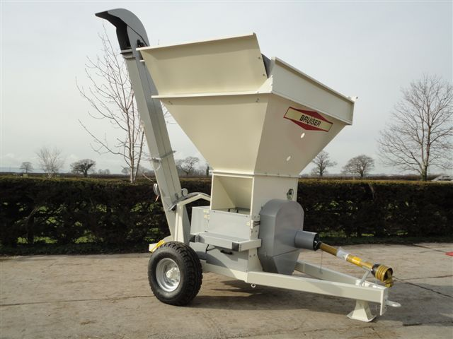 Bruiser 600 for flat rolled grain