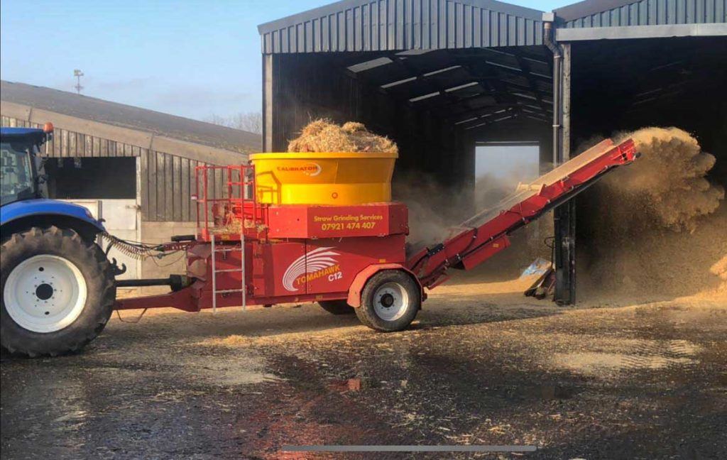 The Teagle straw chopper has proved extremely popular with customers since it's purchase in 2018