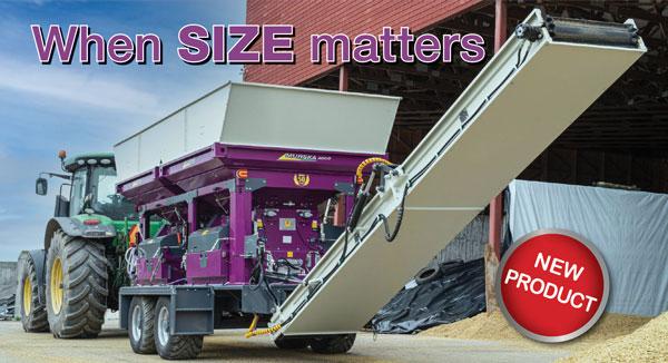 Murska 4000 The worlds biggest grain crimper