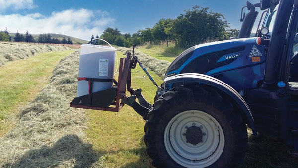 Preserving grass at different moisture contents
